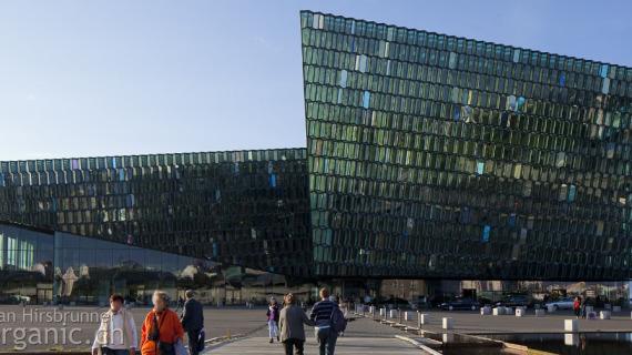 Harpa: Architektur in Reykjavik