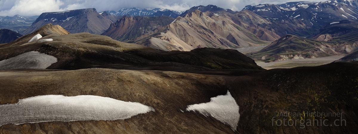 Naturfotografie in Island: Landmannalaugar