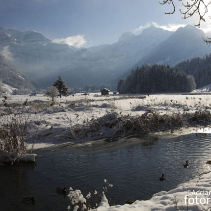 Winter in der Lenk