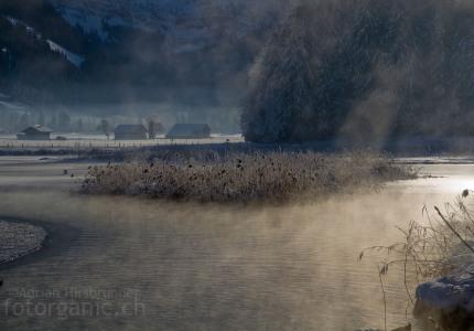 winterliche Morgenstimmung Lenkersee