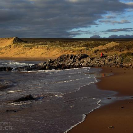 Dünenlandschaft Redpoint Western Ross
