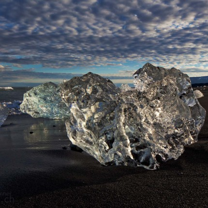 Faszinierende Eisskulpturen.