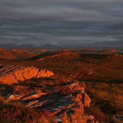 Schönste Sonnenuntergänge bei Achnahaird, Schottland