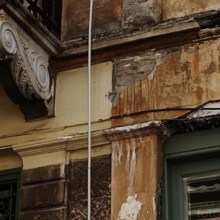 Eine Art Stillleben: Zerfallende Architektur in Nauplia