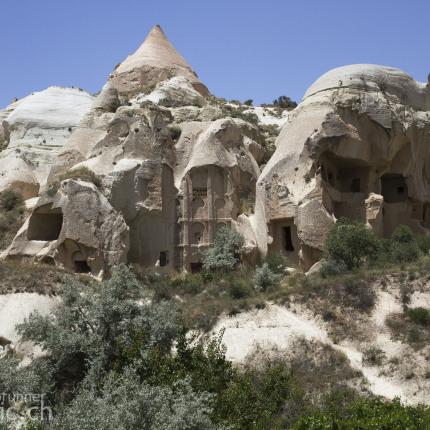 Auch im Rosevalley sind zahlreiche Höhlenkirchen zu finden.