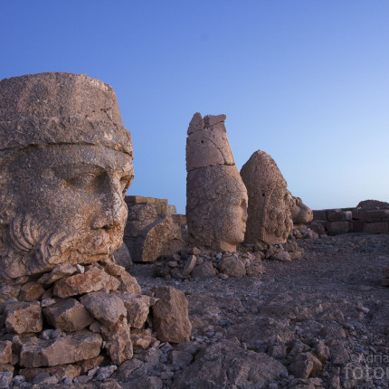 Die Köpfe der Götter, Nemrut Dağı