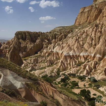 Faszinierende Landschaft des Rosevalley.