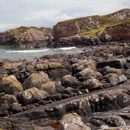 Die schroffen Küsten Schottlands sind beliebte Brutgebiete des Oystercatchers.