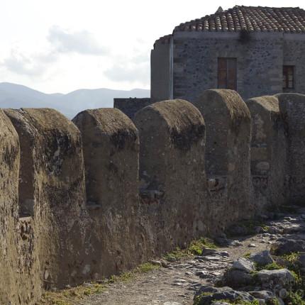 Die Stadtmauer von Monemvasia
