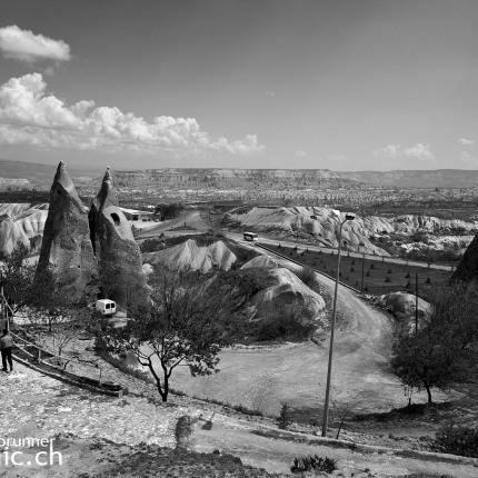 Typisch kappadokische Landschaft in Ürgüp