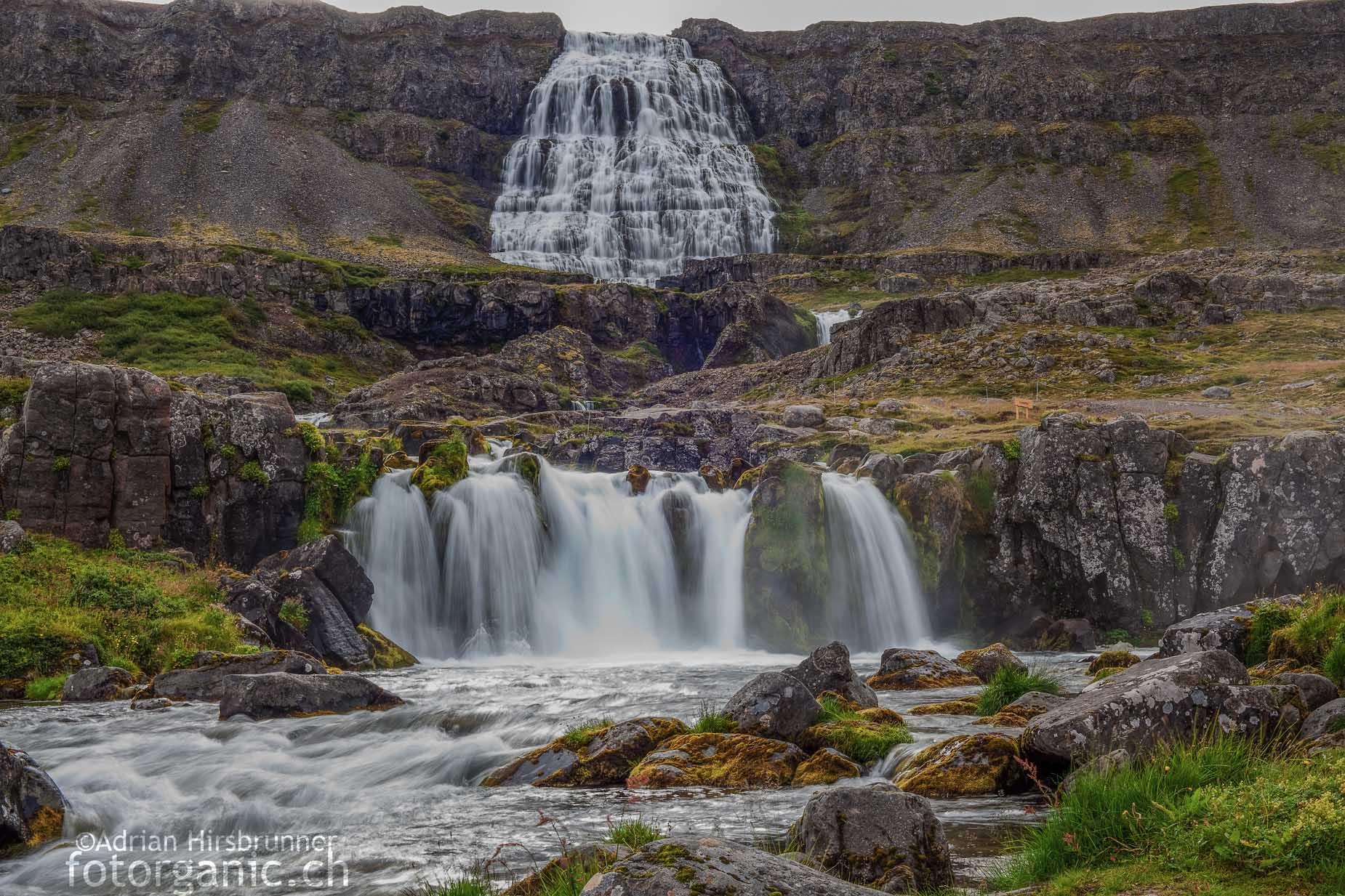 Der Dynjandi ist der grösste Wasserfall des Isländischen Nordwestens.
