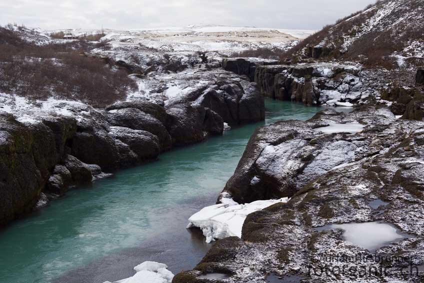 Winterstimmung im Thingvellir-Nationalpark