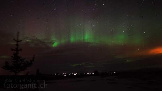 Im Winter ist die Chance am grössten, in Island das Polarlicht zu sehen. Wer keines sieht, wird die Reise trotzdem nicht bereuen.