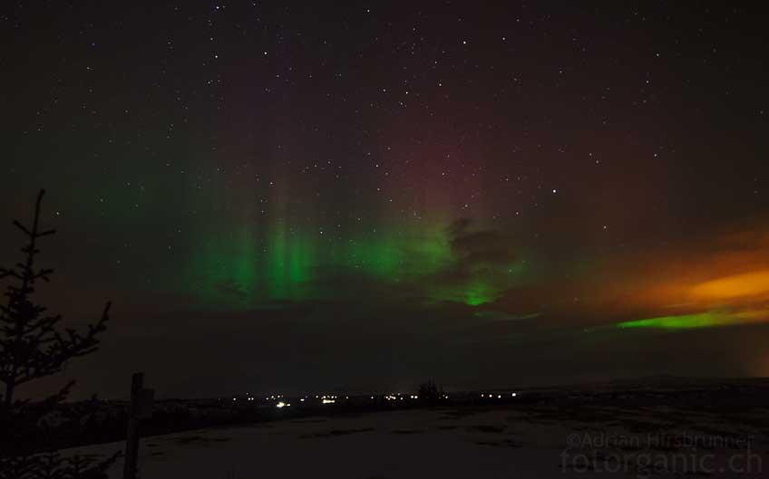 Beginnen die Polarlichter einmal zu tanzen, vergisst man die klirrende Kälte schnell.