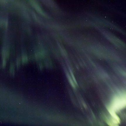 Die Strahlenbündel des Nordlichts lassen uns mit ihrer Formenvielfalt staunen.