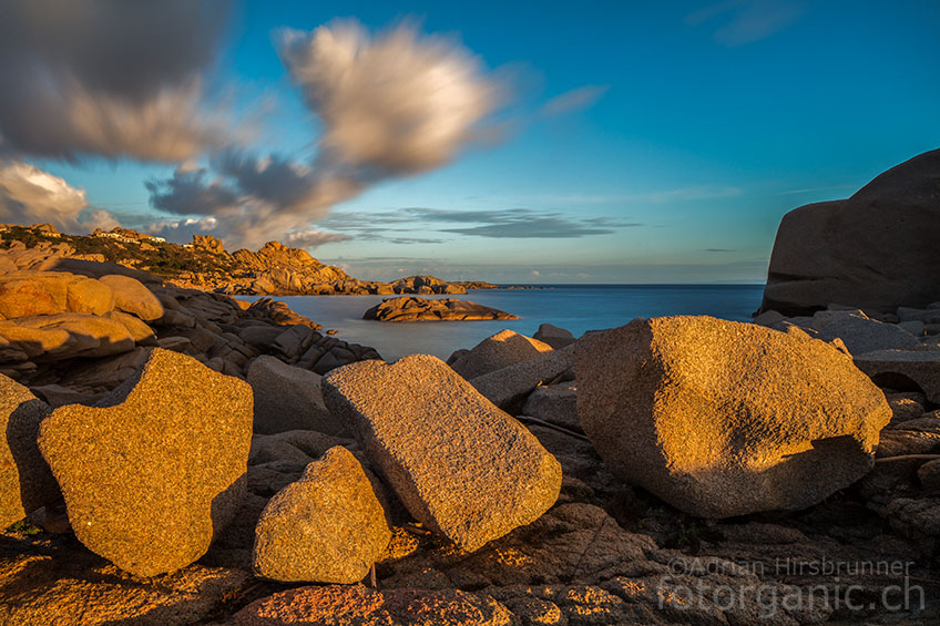 Unser Aufenthalt direkt am Capo Testa machte es möglich, die Landschaft auch in den frühen Morgenstunden zu geniessen.