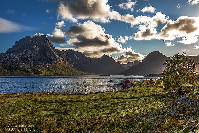 Moskenesøy, auf dem Rückweg zum Parkplatz bei Marka.