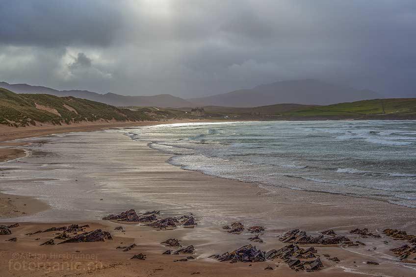 Der Balnakeil Beach ist einer der grössten Sandstrände im Norden Schottlands