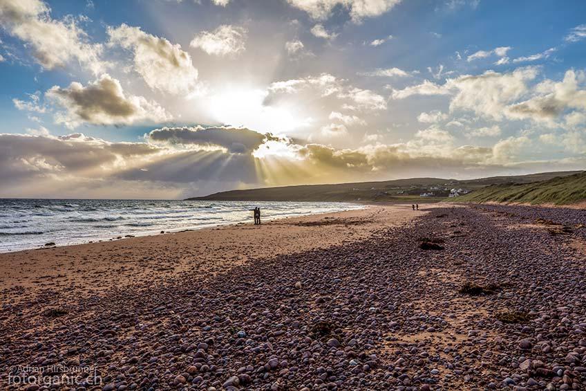 Big Sand ist einer der schönsten Strände Schottlands.