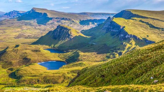 Die Isle of Skye ist eine Insel voller Naturschönheiten. Die imposante Landschaft dieser Insel begeistert viele Fotografen.